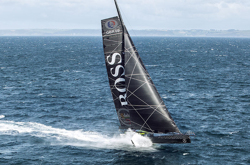 Alex Thomson, onboard Hugo Boss to win Vendée Globe | Raymarine by FLIR
