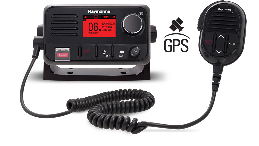 The NEW Ray52 VHF with built-in GPS | Raymarine by FLIR