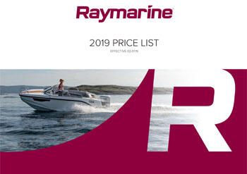 Preview Raymarine 2019 Price List| Raymarine - A Brand by FLIR