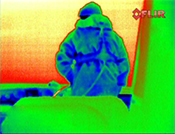 Rainbow thermal image | Raymarine