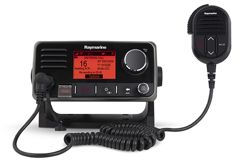 Ray60 Full-Sized, Full-Featured VHF Radio | Raymarine