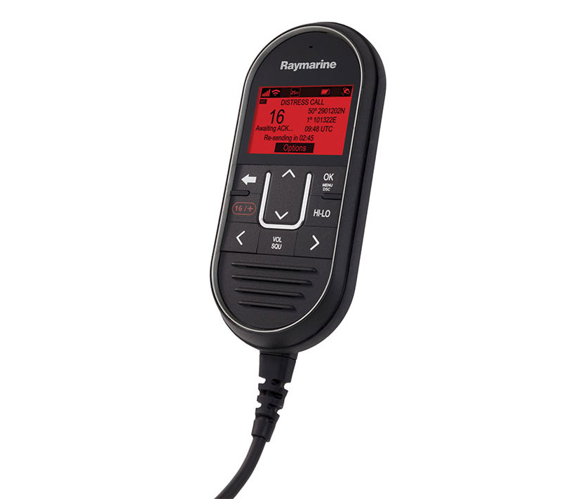 RayMic Wired Handset Accessory | Raymarine by FLIR