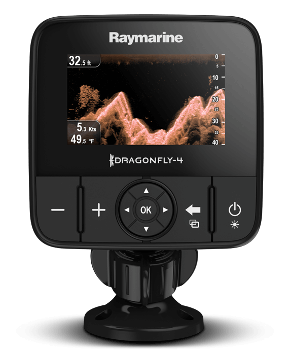 Dragonfly 4DV and 4DVS | Raymarine by FLIR