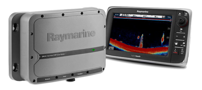 CP450C with new e Series MFD | Raymarine