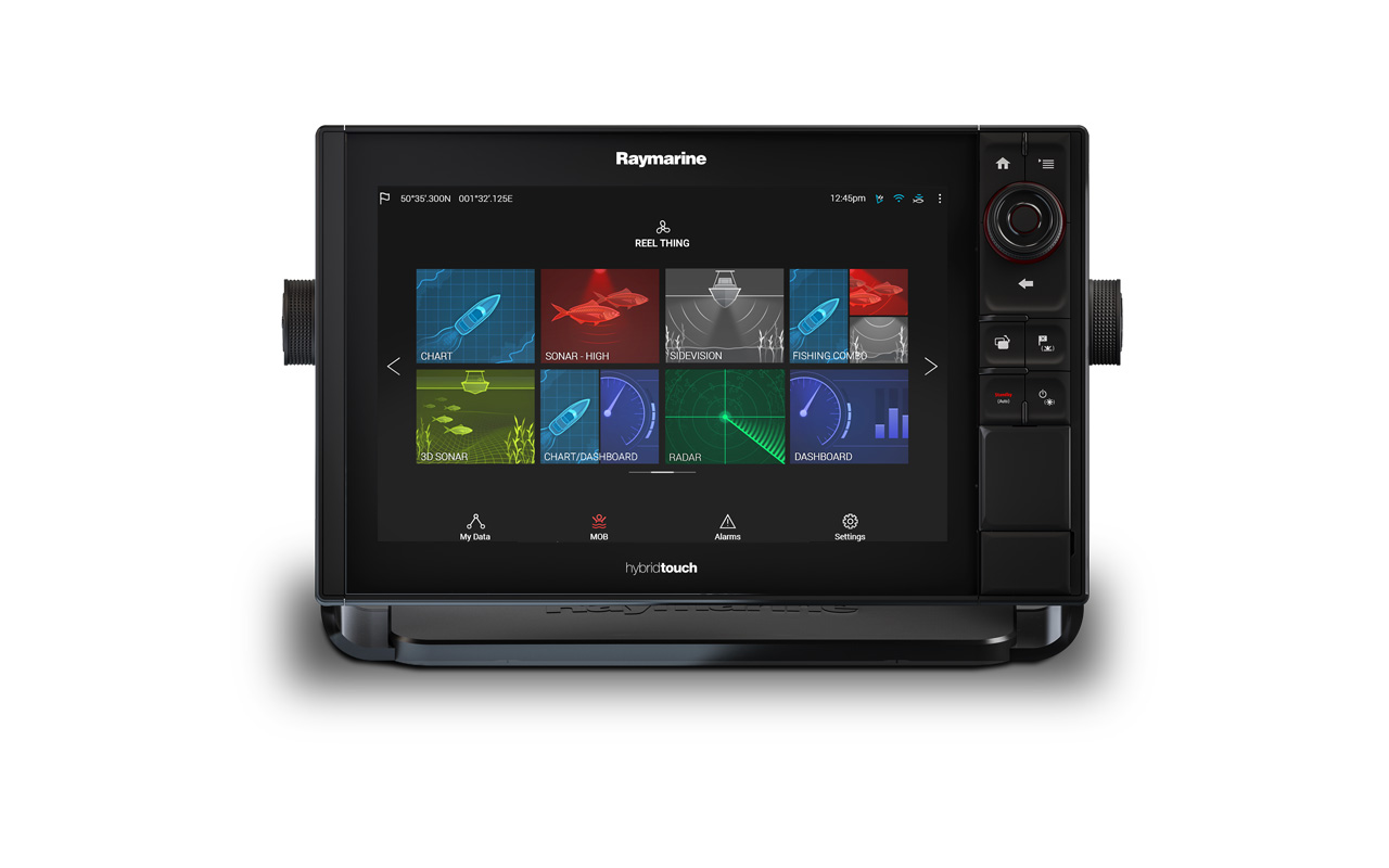 RVX1000 - Typical System - eS12 Multifunction Display | Raymarine - A Brand by FLIR