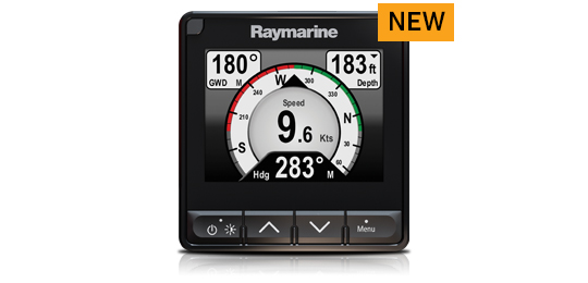 i70s Instrument Display Media Resources | Raymarine