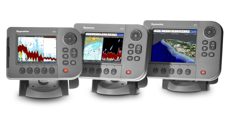 A Series Chartplotters and Chartplotter-Fishfinders | Raymarine