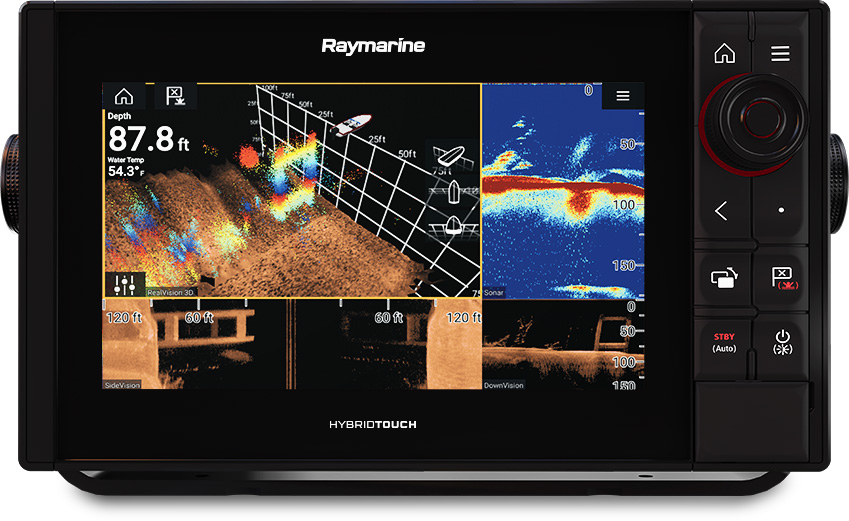 Axiom Pro 9 - 3D and 1KW Sonar | Raymarine by FLIR