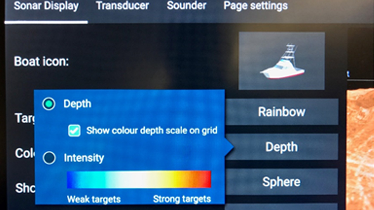 LightHouse 3.3 - Depth Scale | Raymarine - A Brand By FLIR