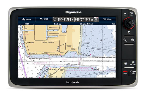 LightHouse II - e12 with LightHouse Charts | Raymarine