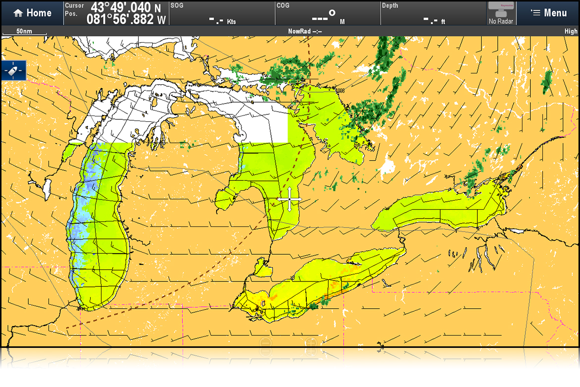 SiriusXM Great Lakes Forecasts | Raymarine