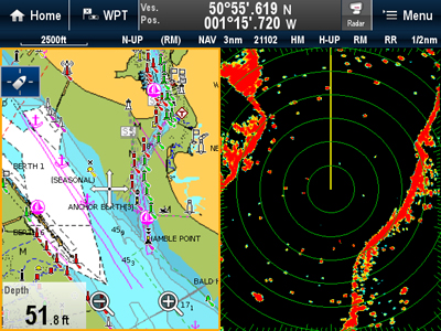 Custom Screens | Raymarine