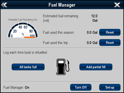 Fuel Management | Raymarine
