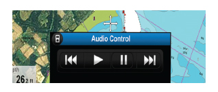 Bluetooth Audio Controls | Raymarine