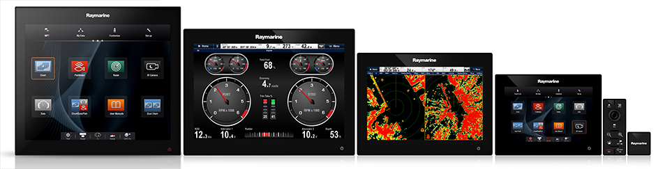 RMK-9 Multi-Display Control | Raymarine