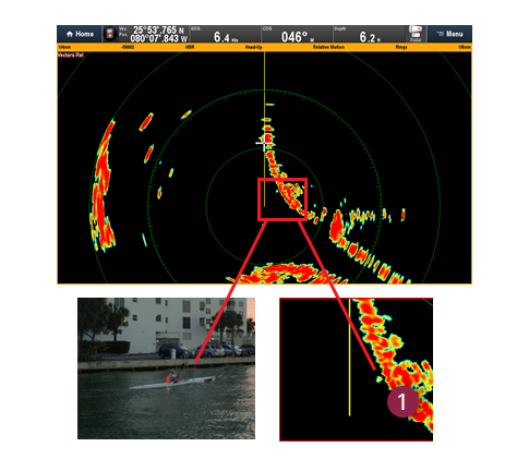 Superior Imaging from CHIRP Pulse Technolgy | Raymarine
