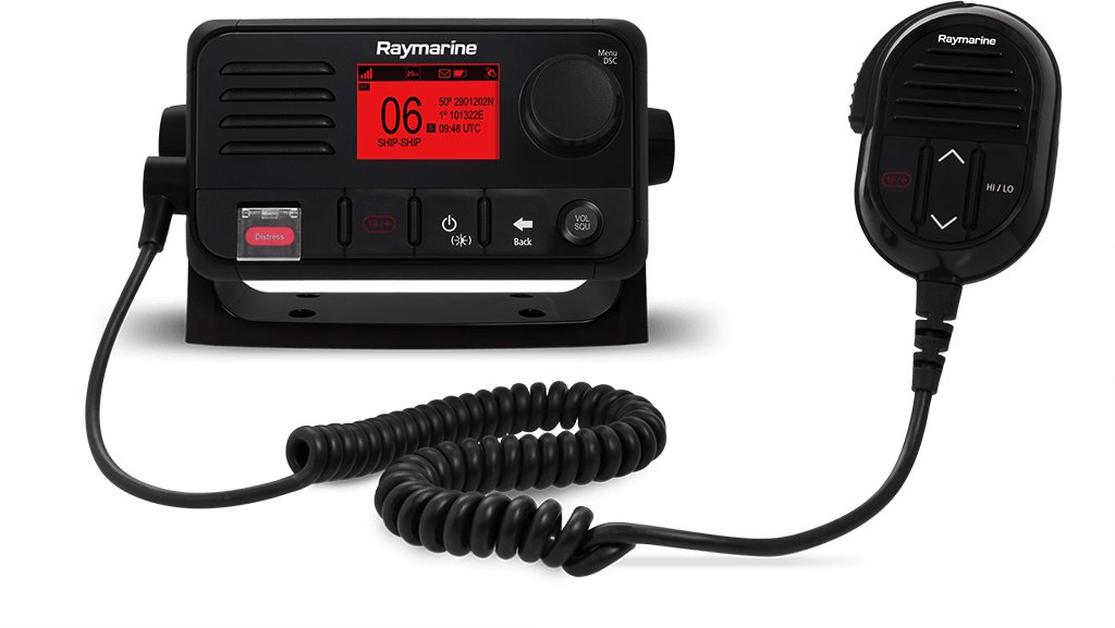 NEW Ray53 Compact VHF Radio with GPS | Raymarine - A Brand by FLIR