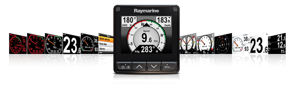 New I70s Multifunction Instrument Display Raymarine By Flir