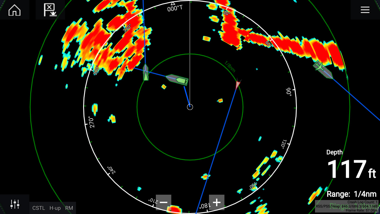 LightHouse 3.3 - Radar AIS Target Overlay | Raymarine - A Brand By FLIR
