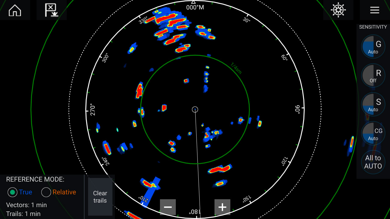 LightHouse 3.3 - Enhanced Radar Trails | Raymarine - A Brand By FLIR