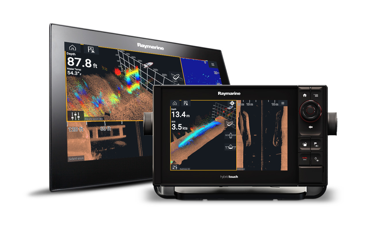 LightHouse 3.3 - Share RealVision 3D Sonar | Raymarine - A Brand By FLIR