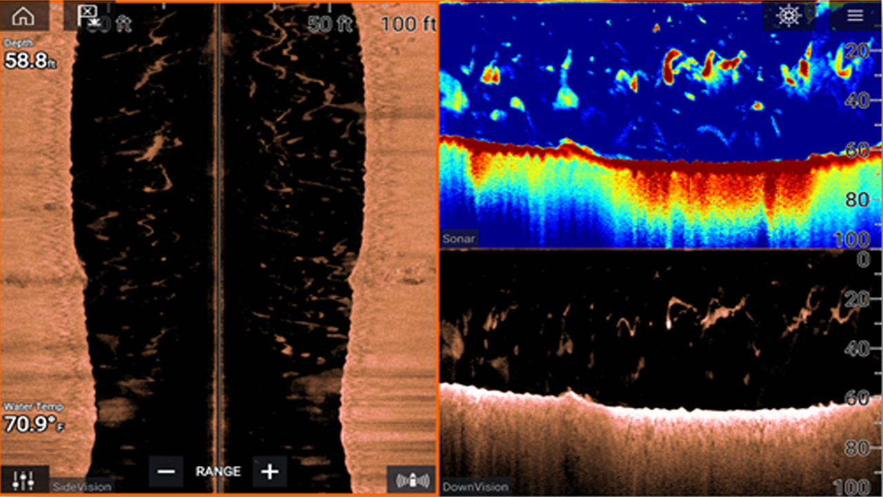 LightHouse 3.3 - Smooth Sonar Range Transition | Raymarine - A Brand By FLIR