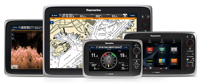 eSeries Multifunction Displays | Raymarine