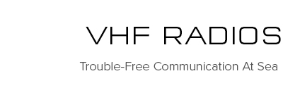VHF Radion Communication | Raymarine - A Brand by FLIR