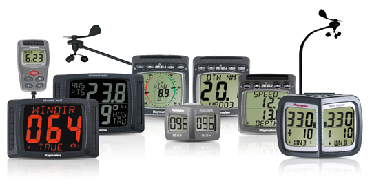 The Raymarine Wireless Instrument Range | Raymarine by FLIR